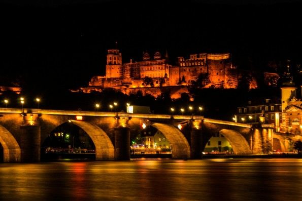 Heidelberg ist auch bei Nacht wunderschön