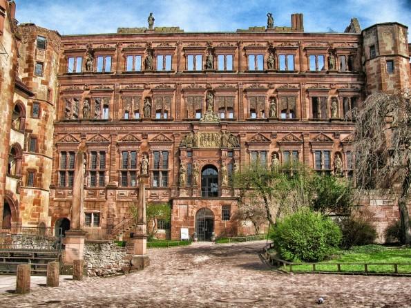Die Heidelberger Architektur kann sich sehen lassen