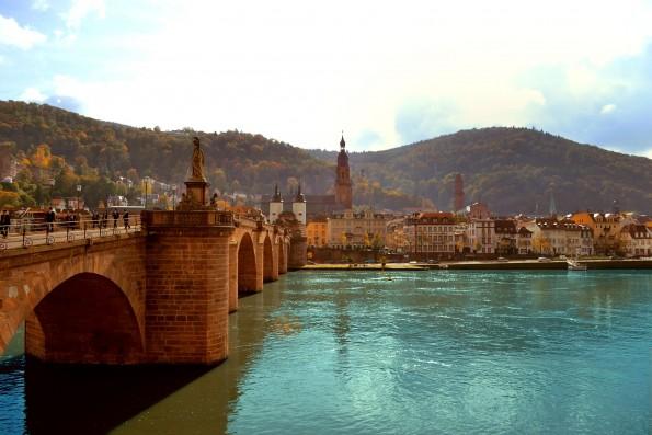 Heidelberg und der Neckar