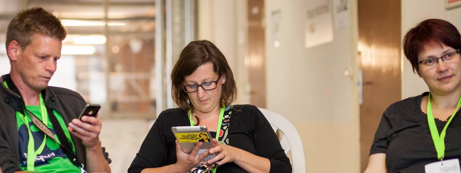 9. Rede über das Literaturcamp